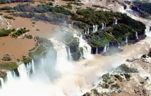 Iguassu Falls Argentina Side, Speed Boat and Off-Road Truck