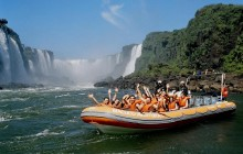 Iguassu Falls - Brazil side with Macuco, Helicopter Flight