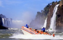 Iguassu Falls - Macuco Safari Speed Boat + Jungle Jeep Adventure