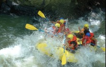 Adventure Tour: Rafting the Lempa River