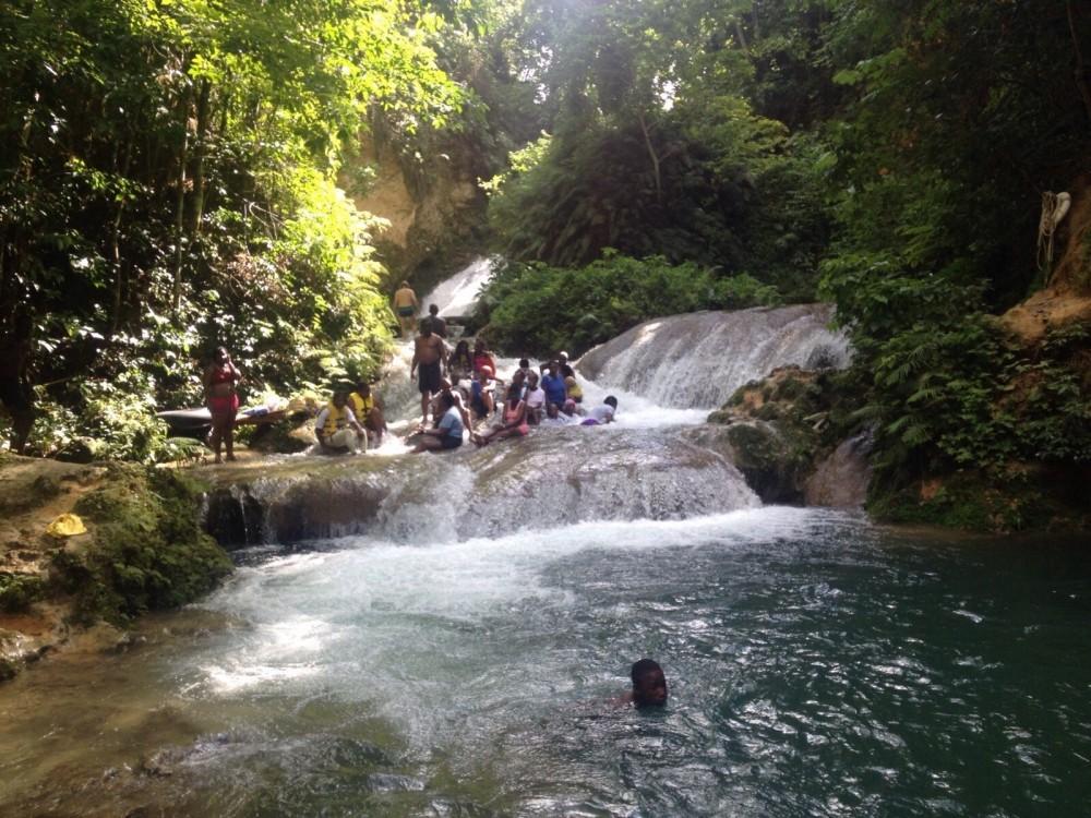 Island Gully Falls -the Blue Hole Ocho Rios