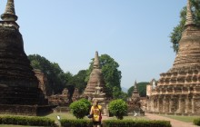 Ancient Kingdoms Ride a 13 day bike tour in Thailand