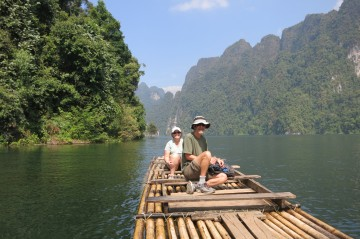 A picture of Experiences Chiang Mai bike, hike, raft, cook, canoe in Thailand
