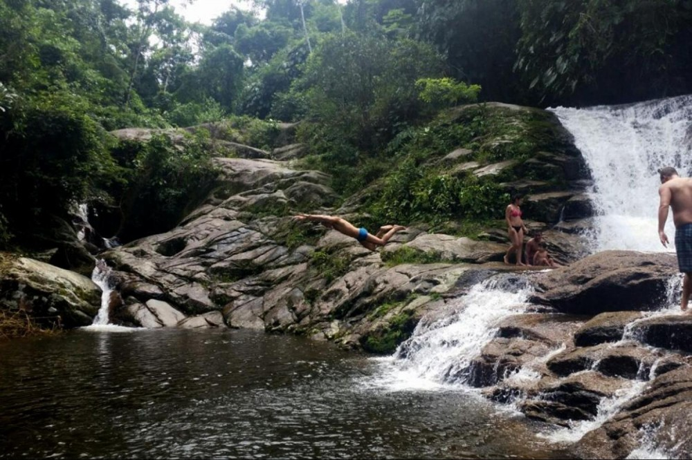 Waterfall Jungle and Cachaça distillery Jeep Tour