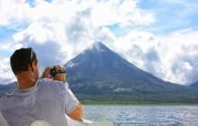 Arenal Volcano by Lake + Baldi Hot Springs