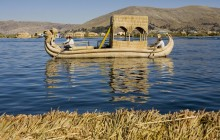 Puno: Uros Reef Floating Islands & Taquile Island