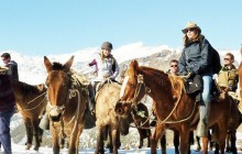 Winter Horseback Tour