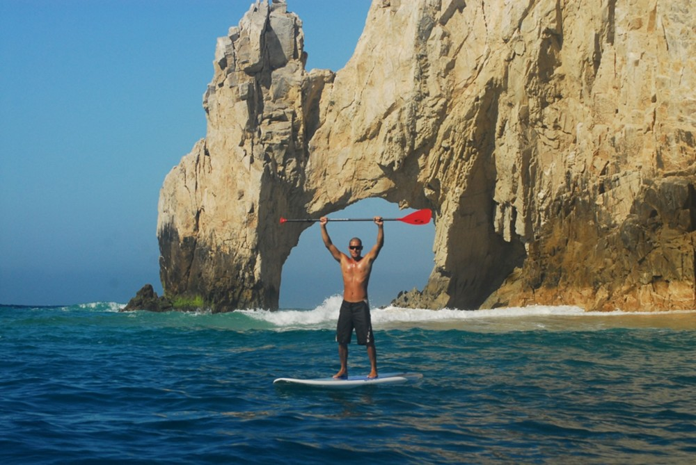 Stand Up Paddle & Snorkel at the Arch