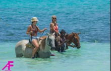 Beach Horseback Riding Plus White River Tubing