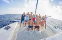 Luxury Sunset Catamaran Sailing