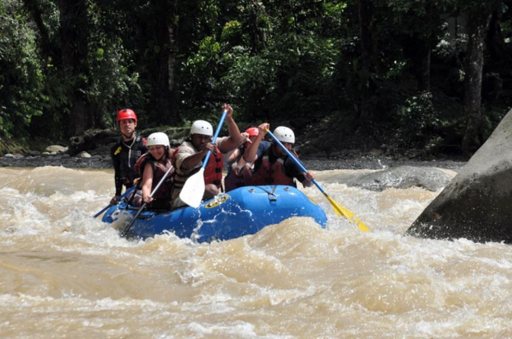 Naranjo white water rafting (from Jacó)