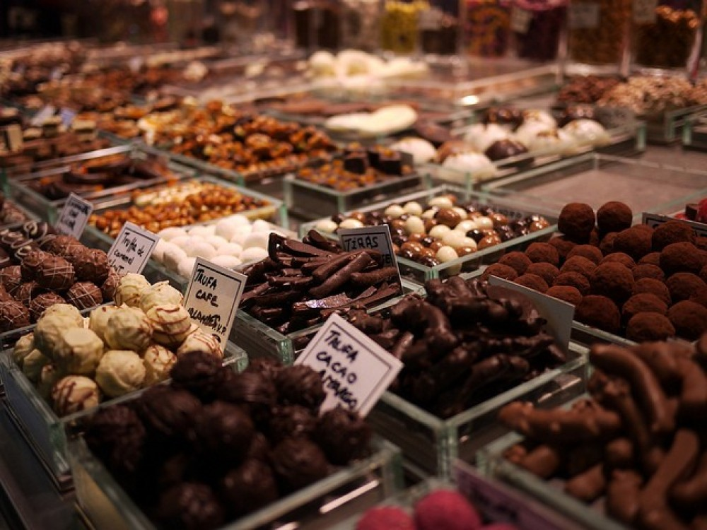 Private Chocolate Sweet Walking Tour of Barcelona