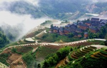 Guilin Bus Tour Of Longji Rice Terraces At Pingan Village