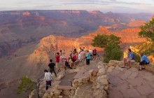 Grand Canyon South Rim Tour With Pink Jeep and IMAX Tickets