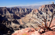 Grand Canyon West Rim Tour w/ Helicopter, Boat and Skywalk