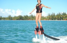 Flyboard with Media Package