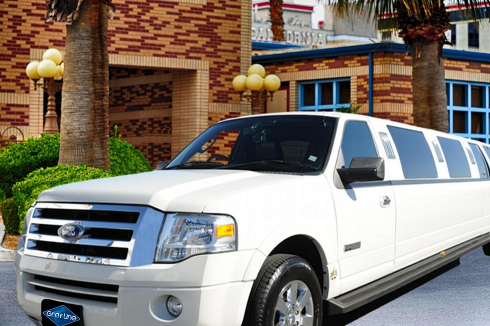 Stretch SUV Navigator Limousine from McCarran Intl Airport