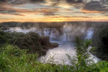 A picture of Iguazu Falls - Power Of Nature