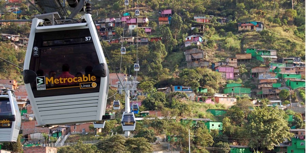 Evolution of Medellin - Innovation Metro tour