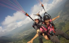Paragliding from Medellin