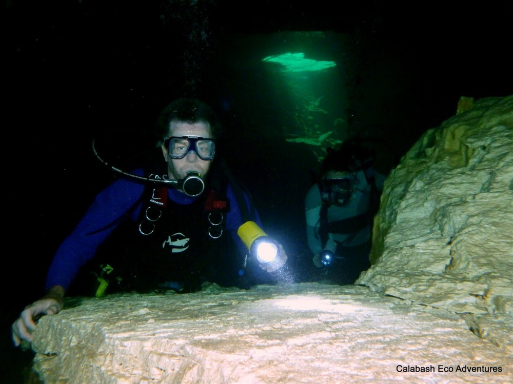 Ben's Cave Dive At Lucayan National Park