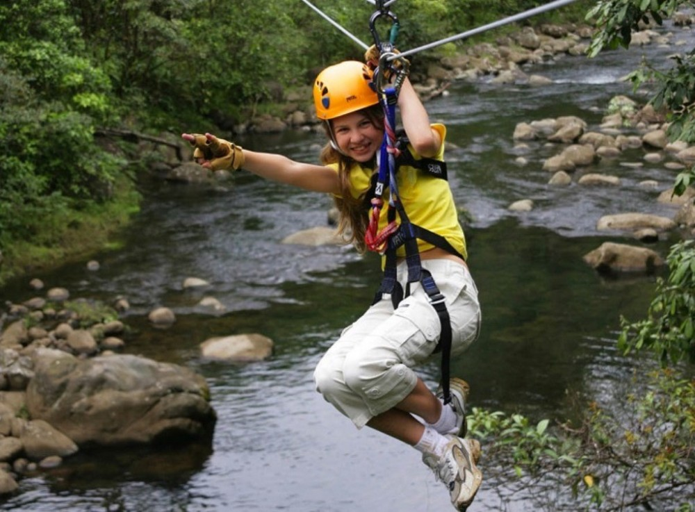 Costa Rica Atlantic: Canopy Zip Line