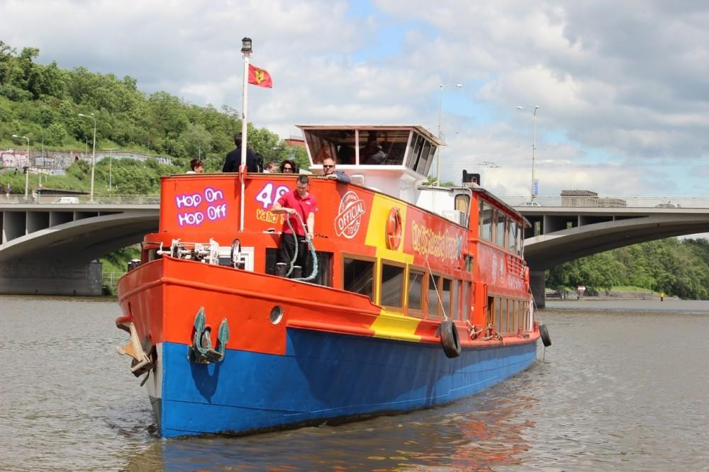 City Sightseeing Hop On Hop Off Prague Bus + Boat