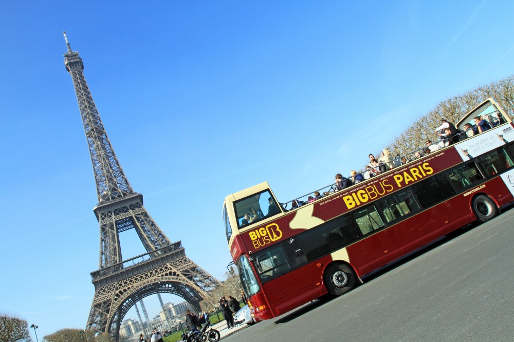 City Sightseeing Hop On Hop Off Paris