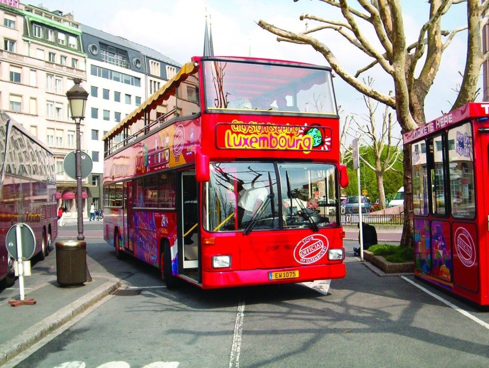 City Sightseeing Hop On Hop Off Luxembourg