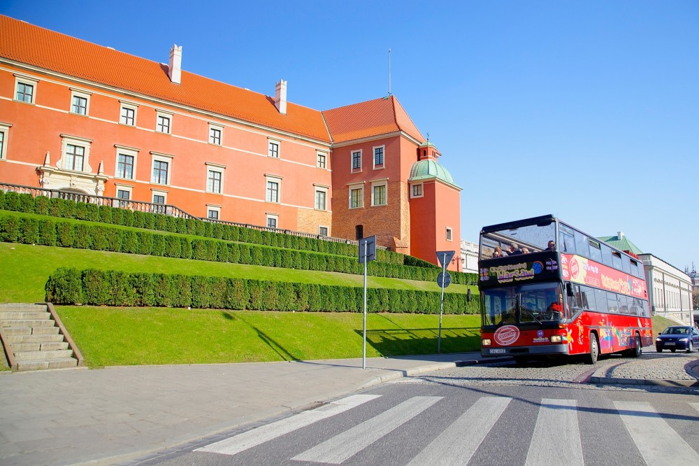 City Sightseeing Hop On Hop Off Krakow + Warsaw