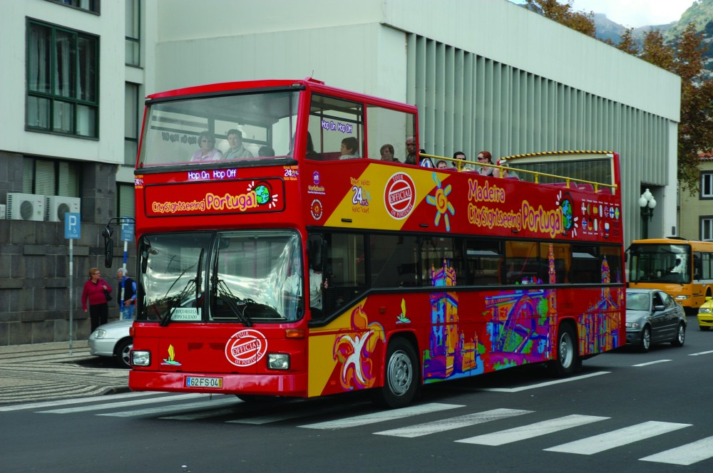 City Sightseeing Hop On Hop Off Funchal