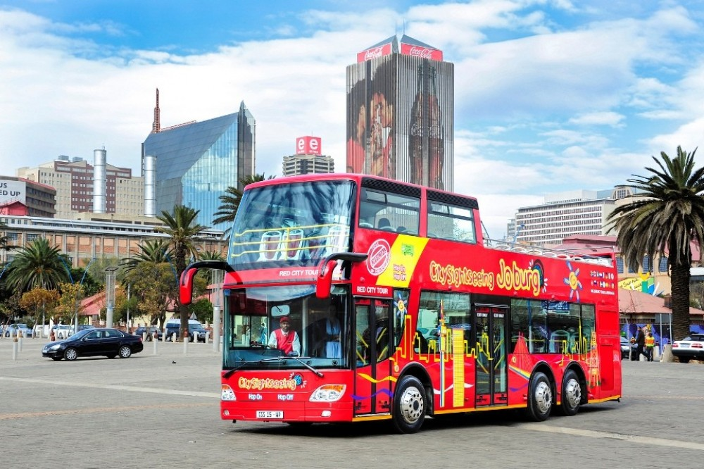 City Sightseeing Hop On Hop Off Johannesburg