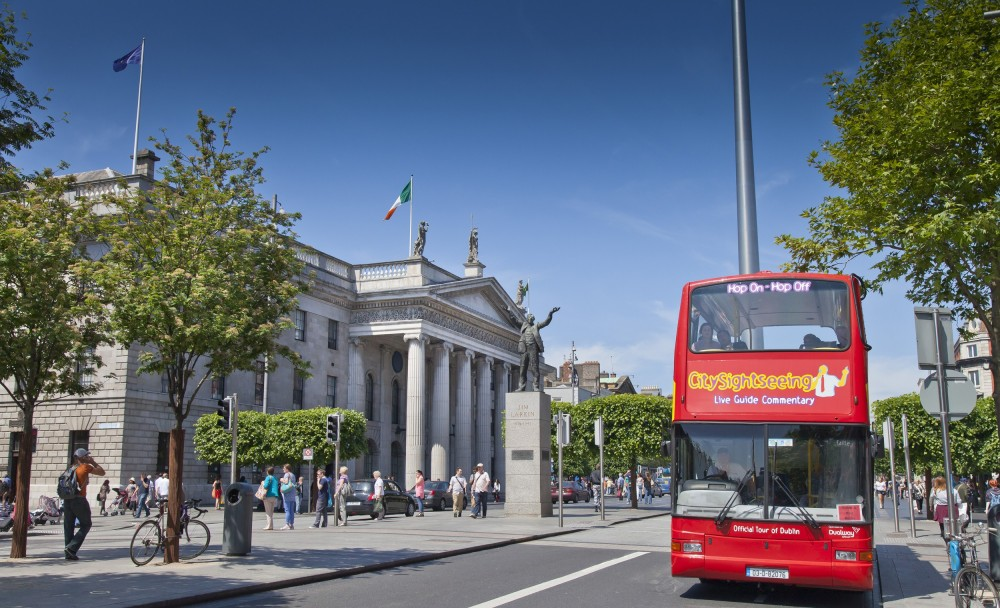 City Sightseeing Hop On Hop Off Dublin