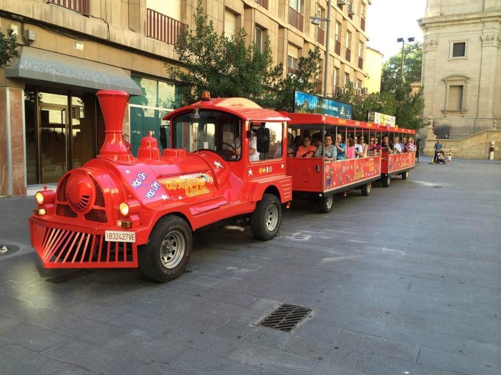 City Sightseeing Hop On Hop Off Lleida Train Tour