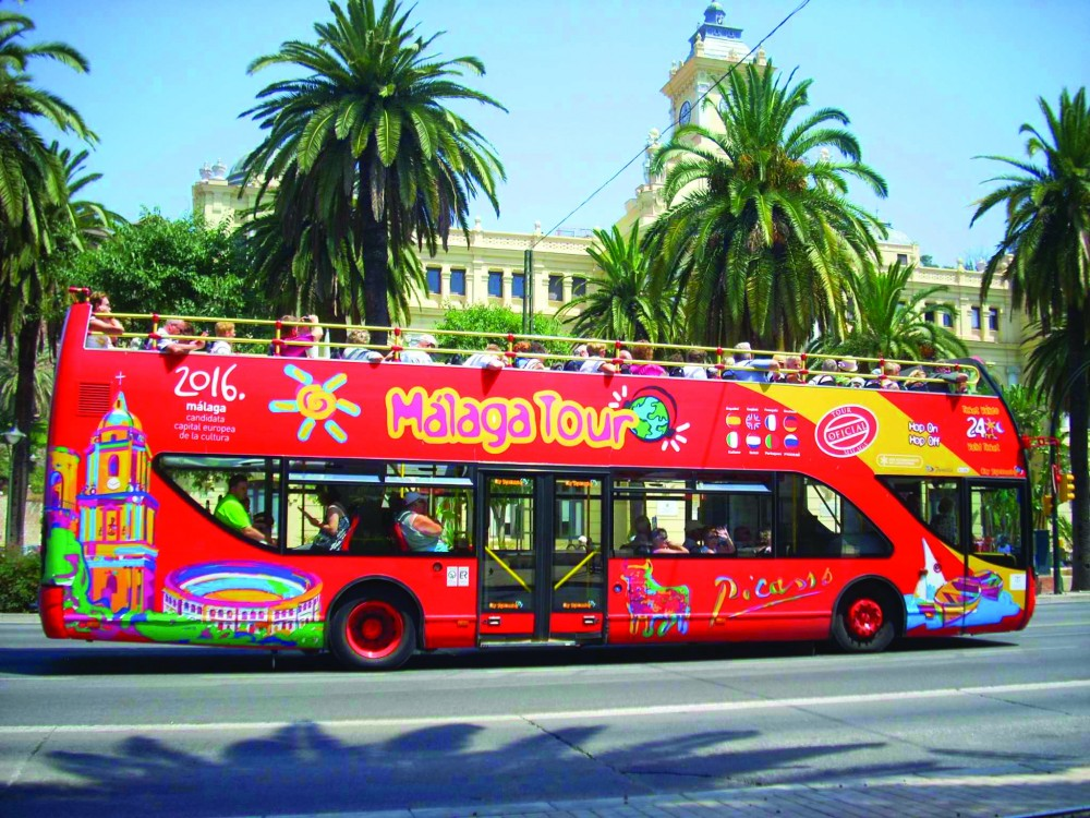 City Sightseeing Hop On Hop Off Malaga
