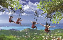 Soualiga Sky Explorer, Flying Dutchman, Schooner Ride & Zip Line