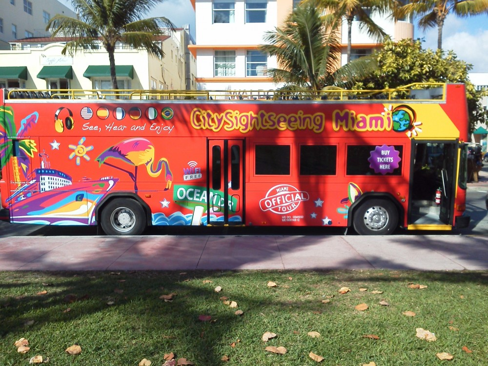City Sightseeing Hop On Hop Off Miami