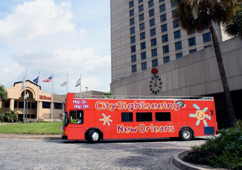 City Sightseeing Hop On Hop Off New Orleans