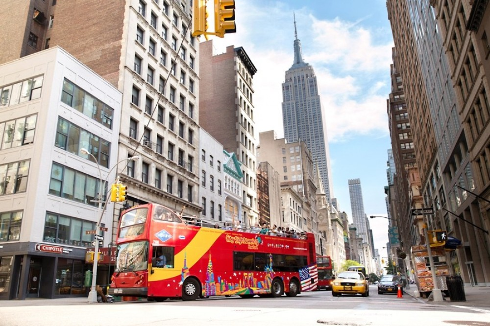 City Sightseeing Hop On Hop Off New York - Downtown Tour