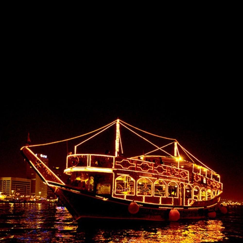Marina Dhow Cruise Dubai