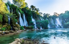 Group Tour Mostar & Kravice Waterfall from Dubrovnik