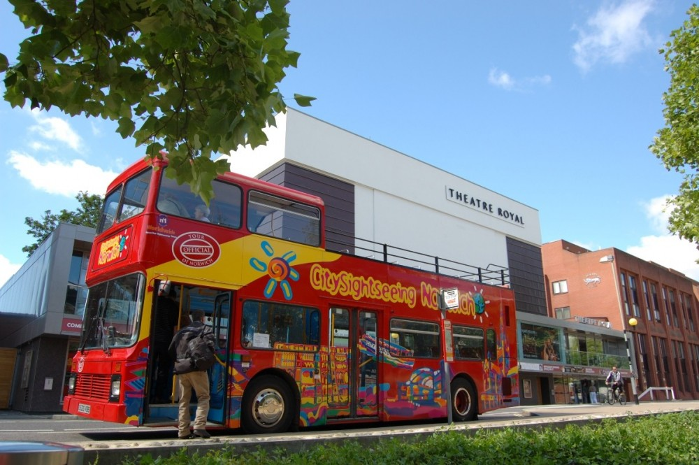 City Sightseeing Hop On Hop Off Norwich