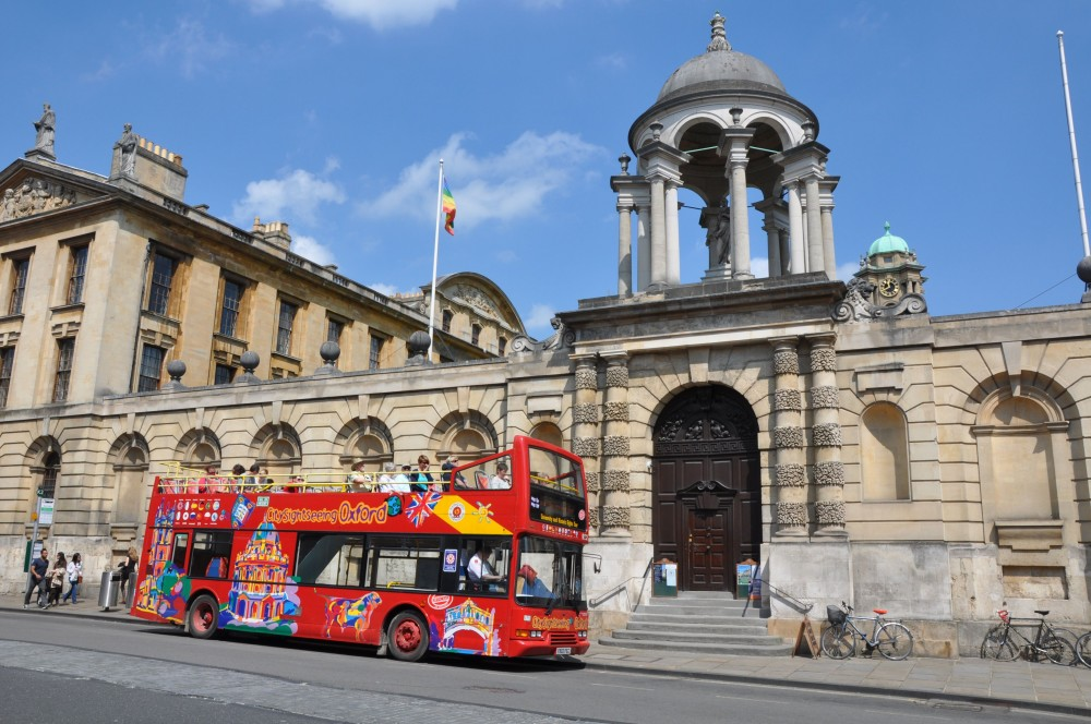 City Sightseeing Hop On Hop Off Oxford