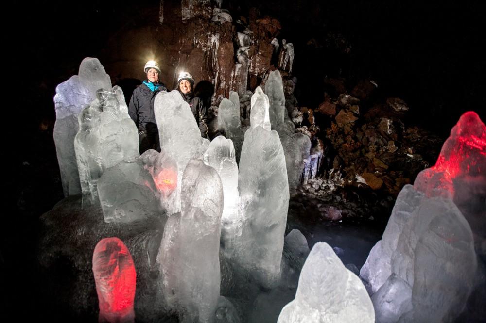 Cave Exploration Lofthellir (from Akureyri)