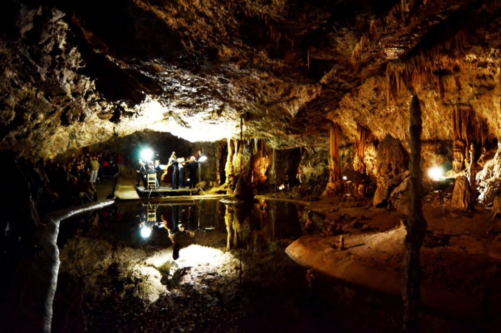 Concerts, Banquets & Entertainment In Moravian Karst Caves