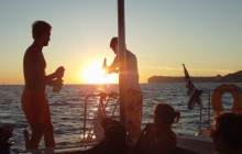 Private Santorini Catamaran Sunset Cruise