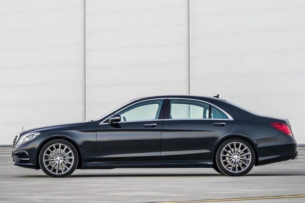 Limousine Service : Mercedes S Class - Upto 3 Passengers