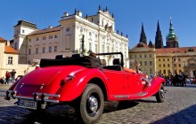 Old Timer/Vintage Car Tour Of Prague