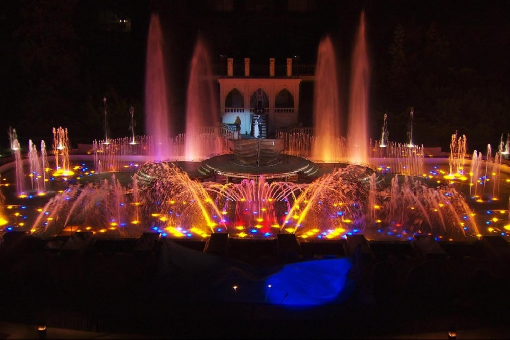 Prague By Night - Krizik´s Music Fountain Performance