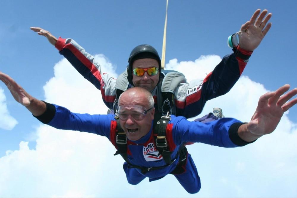 Tandem Skydiving Adventure In Prague